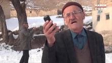 Telefonu çekmeyen dayının isyanı