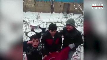 Küçük çocuğun Afrin'deki Mehmetçiğe mesajı sosyal medyada paylaşım rekorları kırdı