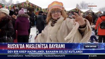 Rusya'da Maslenitsa Bayramı