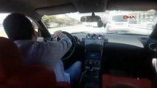 Makas attığı görüntüleri 'Usta şoförlük' diye paylaştı