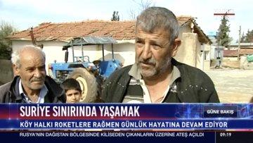 Suriye sınırında yaşamak