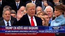 Trump en kötü ABD Başkanı