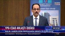 YPG-Esad anlaştı iddiasına yanıt