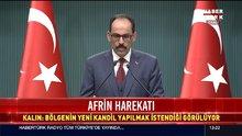 Cumhurbaşkanlığı sözcüsü Kalın, basının sorularını yanıtladı