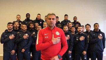 Antalyaspor'dan Afrin'de görevli uzman çavuşa forma!