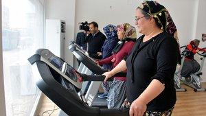 Köylü kadınlar sporla zayıflıyor