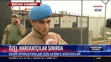 Komandodan Afrin mesajı!