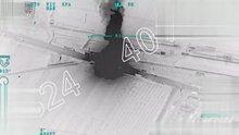 Afrin'e Silah ve Mühimmat Taşıyan Terör Örgütü Konvoyunun Vurulması