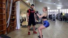 Ünlü fitness modeli mekik çekerken felç kaldı!