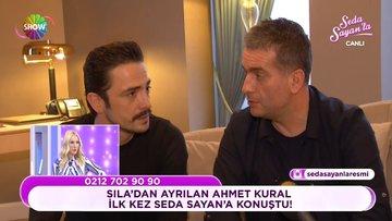 Sıla'dan ayrılan Ahmet Kural ilk kez Seda Sayan'la'ya konuştu!