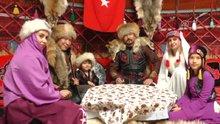 """2000 yıllık kültür """"han otağı""""nda yaşatılıyor"""