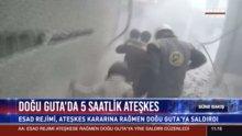 Doğu Guta'da 5 saatlik ateşkes