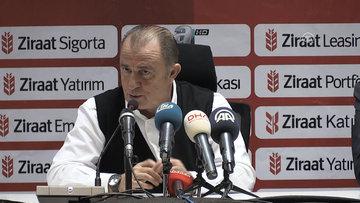 """Galatasaray Teknik Direktörü Terim: """"Belki oyun keyifli değil ama skor keyifli, bir avantaj"""""""