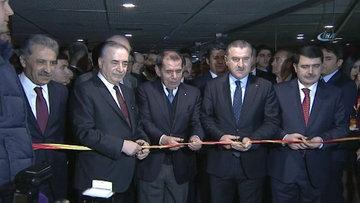 Galatasaray Müzesi'nin resmi açılışı yapıldı