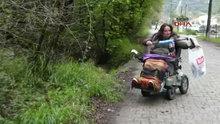 Bedensel engelli Gülay Çolak'ın çevre duyarlılığı