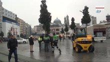 Taksim ve İstiklal Caddesi ağaçlandırma çalışmaları başladı