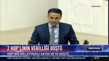 2 HDP'linin vekilliği düştü