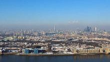 Londra'da kar yağışının hızlandırılmış görüntüsü
