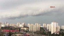 İstanbul'da dolu ve yağmur
