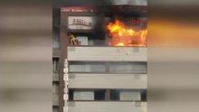 İzmir Basman'da yangın