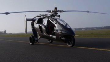 Dünyanın ilk uçan arabası PAL-V