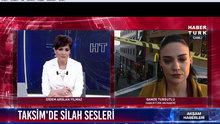 Taksim'de silahlı gasp dehşeti: 2 yaralı