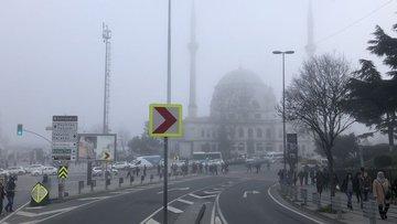 Vodafone Park civarında sis