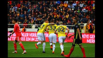Yeni Malatyaspor - Fenerbahçe maçından kareler