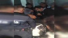 Taksim'de engelli vatandaş ile İranlı kadın arasında asansör kavgası
