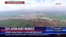 İşte Afrin kent merkezi
