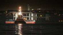 Karaköy'ün yeni iskelesi Tuzla'dan alınarak Haliç'e taşındı