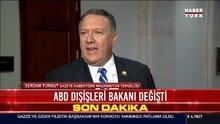 ABD Dışişleri Bakanı değişiyor