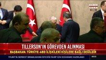 Başbakan Yıldırım'dan Tillerson'ın görevden alınmasına yorum
