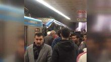 Topçular'da tramvaylar çarpıştı