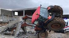 Besihanenin duvarı yıkıldı: 3 ölü, 1 yaralı