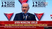 Bahçeli MHP Kurultayı'nda konuştu