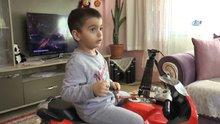 4 yaşındaki Selçuk, beynindeki 8 tümörle savaşıyor