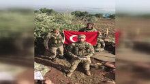 Zeytin Dalı Harekatı'nda görev yapan askerlerden öğrencilere duygusal video