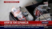 Afrin'de yeni cephanelik bulundu