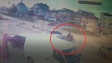 Kamyonun çarptığı motosiklet sürücüsü genç kız hayatını kaybetti!