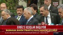 Başbakan Yıldırım: Erbil'e hava sahasını bugün açıyoruz