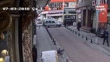 Bayrampaşa'da ölümden saniyelerle kurtuluş
