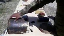 """Afrin'de terör örgütünün """"EYP imalathanesi"""" ortaya çıkarıldı"""