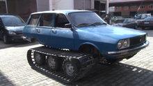 Karadenizli ustalar 77 model Toros'u paletli araca çevirdi