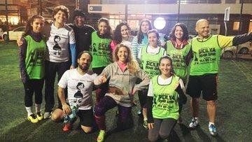 Sicilya Demir Spor: Kadın erkek birlikte, 'iyi futbol' peşinde