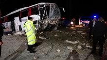Çorum'da otobüs kazası: 2 ölü, 22 yaralı