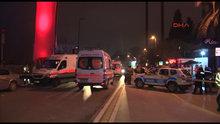 Ortaköy'de bir gece kulübü önünde silahlı kavga