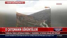 Tunceli'deki çatışmanın görüntüleri