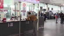 Basketbolcu Mehmet Şanlı'nın havalimanındaki bekleyişi sürüyor
