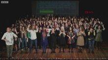 Kadın tiyatroculardan protesto